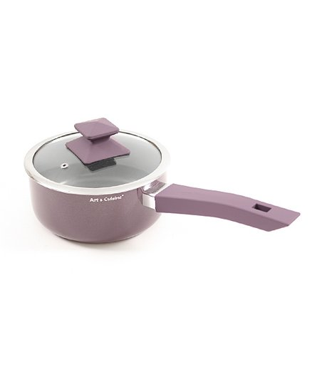 Purple Austral 3.3-Qt. Covered Saucepan