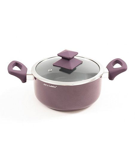 Purple Austral 3.1-Qt. Covered Pot