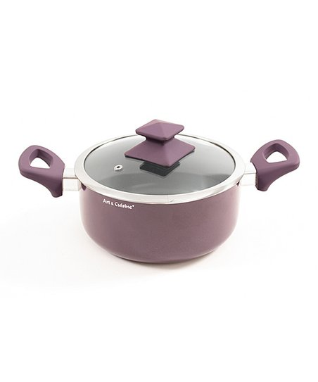 Purple Austral 5.7-Qt. Covered Pot