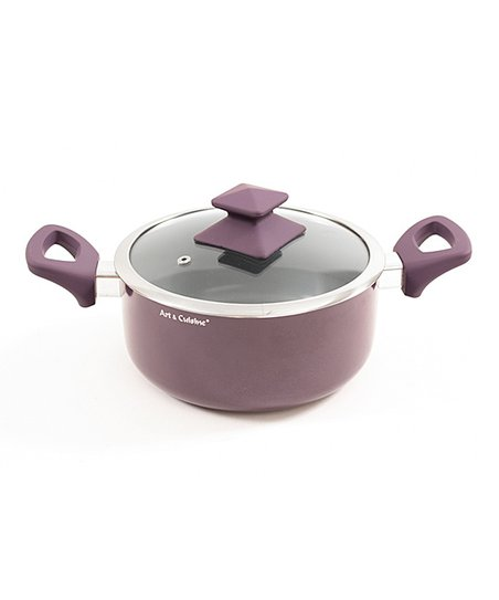 Purple Austral 9.2-Qt. Covered Pot