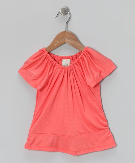Melon Peasant Top - Toddler &amp; Girls