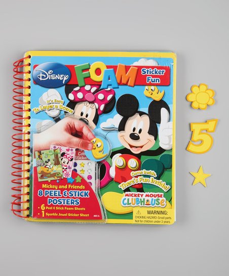 Minnie Mouse Oversize Foam Activity Book
