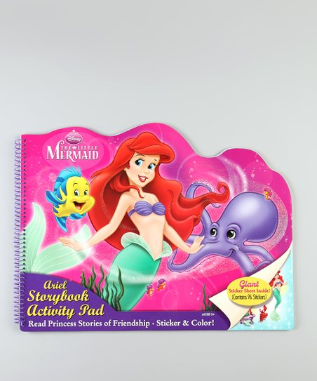 The Little Mermaid Die-Cut Activity Pad