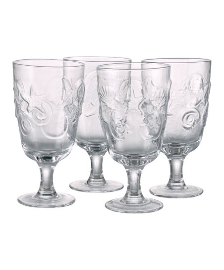 Shell Glass - Set of Four