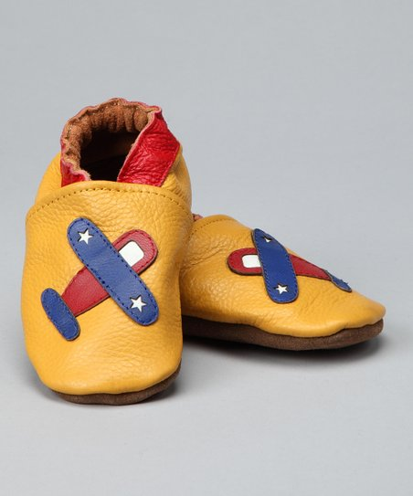 Marigold Airplane Booties