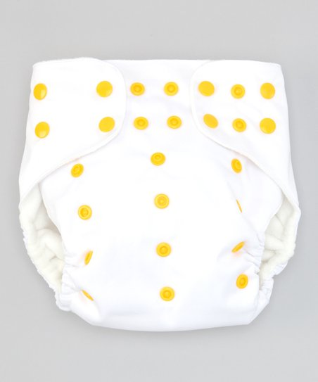 Wonderfully White Pocket Diaper