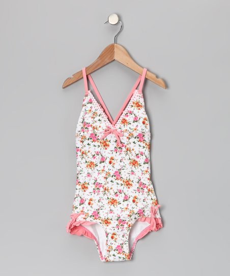 Pink La Vie en Rose One-Piece - Toddler