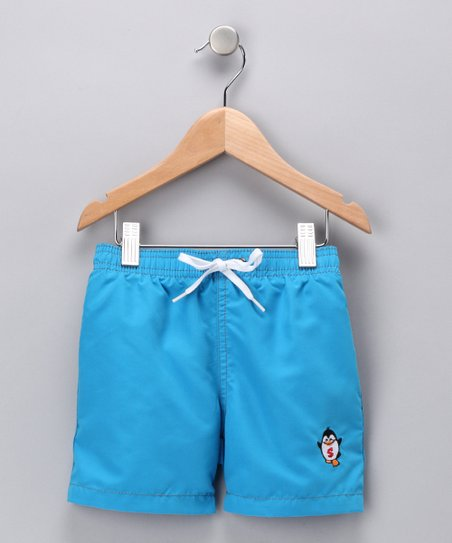 Blue Pipeline Swim Trunks - Infant, Toddler & Boys