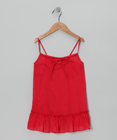Red Swing Tunic - Toddler &amp; Girls