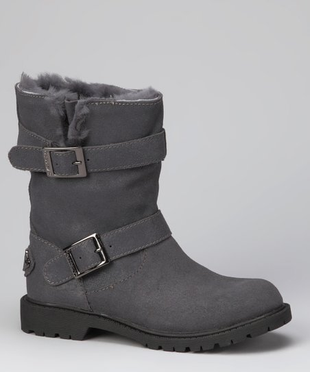 Charcoal Chloe Boot - Women