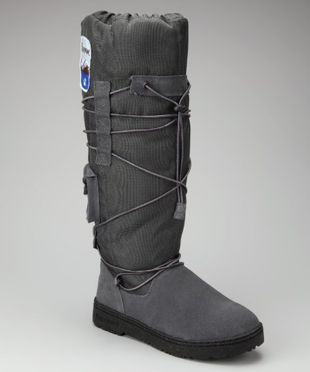Charcoal Suede Boreal Boot - Women