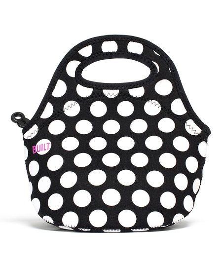 Big Dot Black & White Gourmet Getaway Mini Lunch Tote