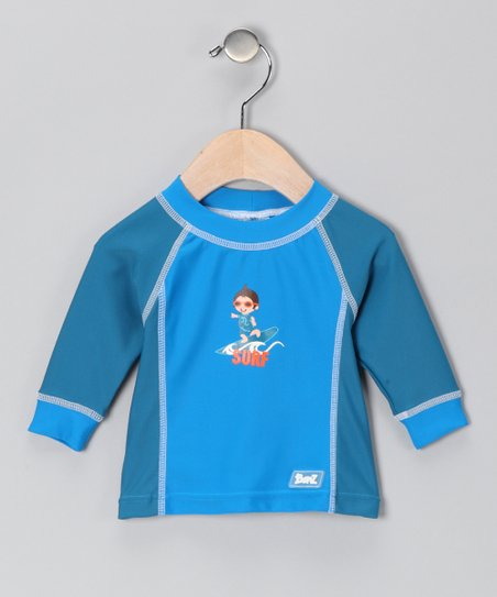 Blue Surf Rashguard - Infant & Boys