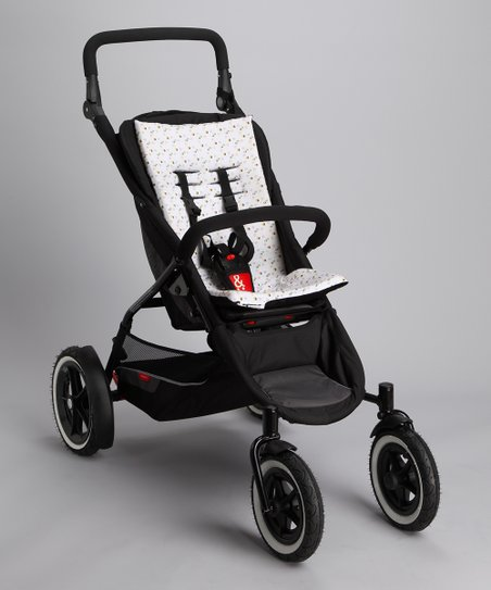 Black Cush 'n' Go Stroller Cushion