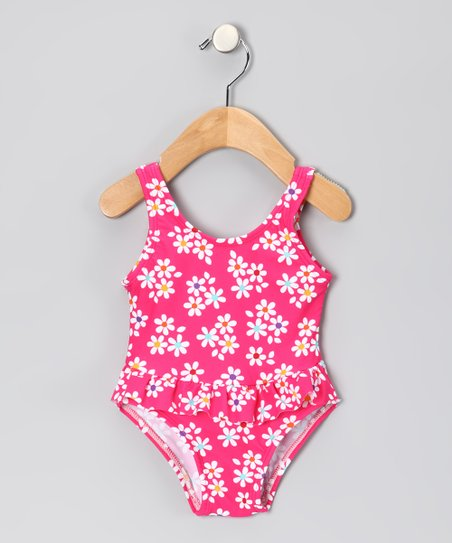 Fuchsia Daisy One-Piece - Infant
