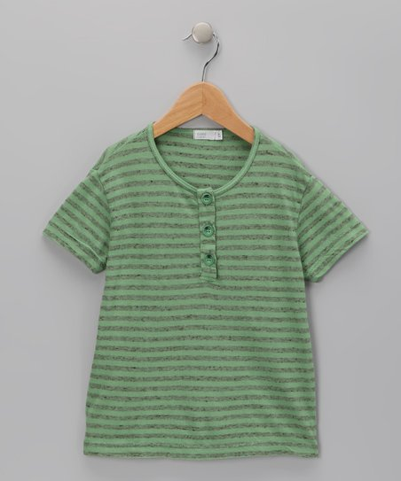 Baby Eggi Jade Stripe Henley - Toddler &amp; Boys