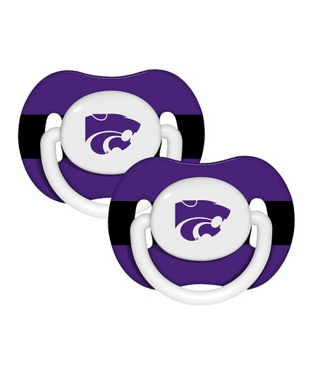 Baby Fanatic Kansas State  Pacifier - Set of Two