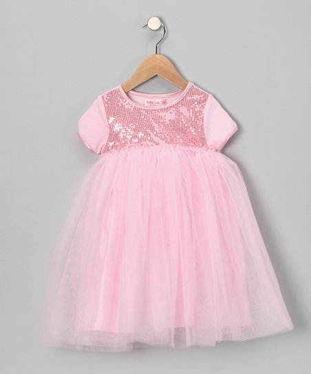 Pink Sequin Dress - Infant