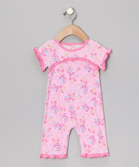 Pink Ruffle Romper - Infant