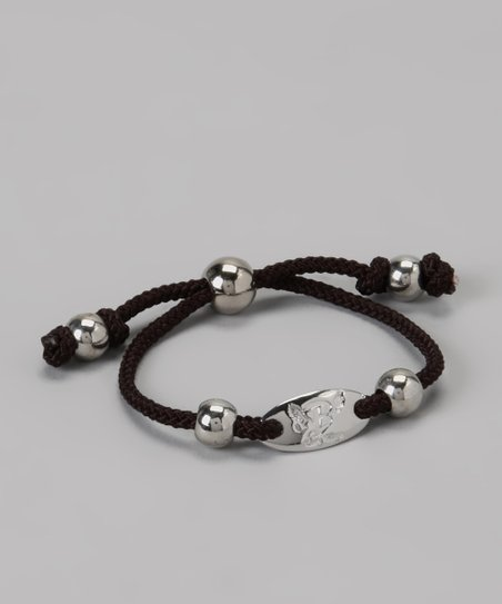 Black Signature Friendship Bracelet