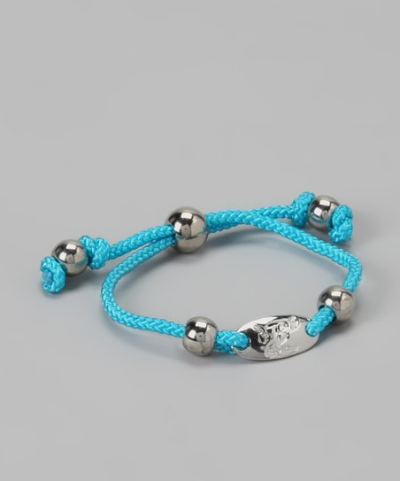 Blue Signature Friendship Bracelet