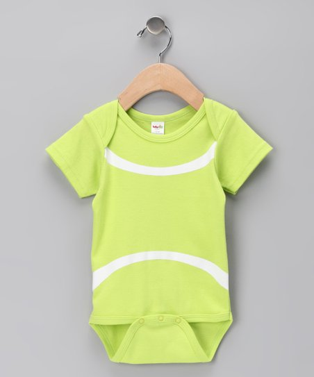 Lime Tennis Ball Bodysuit - Infant