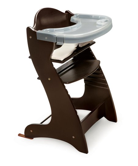 Espresso Embassy Adjustable High Chair