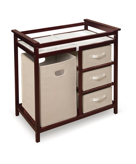 Cherry Modern Changing Table