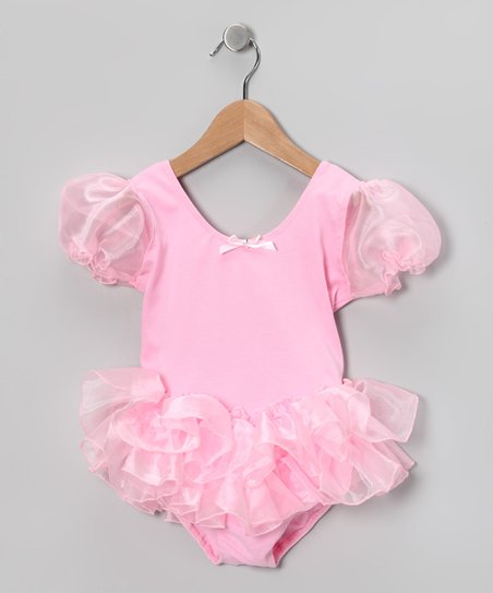 Pink Wisp Tutu Leotard - Girls