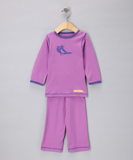 Berry Bird Organic Tee & Yoga Pants - Infant