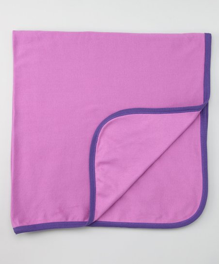 Berry Double-Layer Organic Receiving Blanket