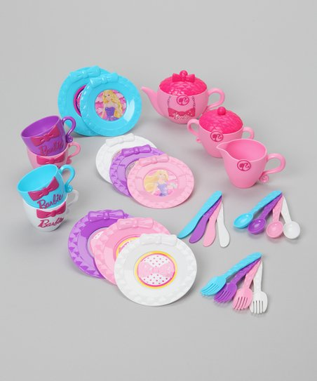 Barbie 100% Fabulous Tea Set
