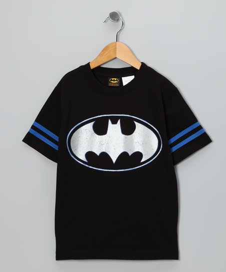 Black & Blue Batman Tee - Kids