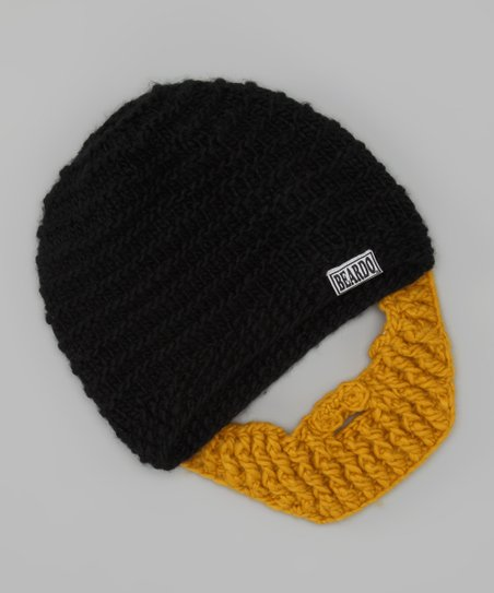 Black Beanie & Blonde Beard - Adult