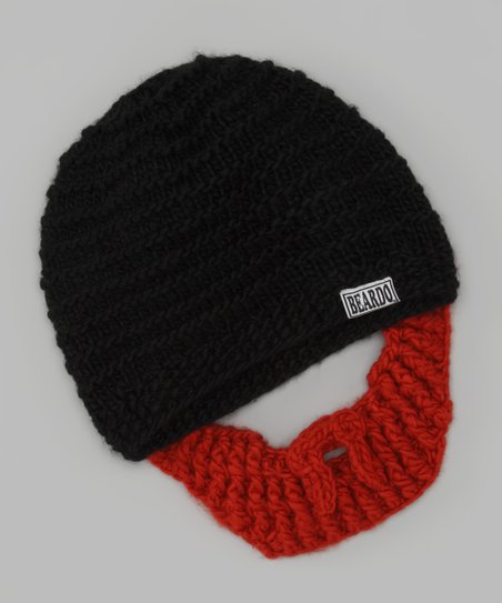 Black Beanie & Ginger Beard - Adult