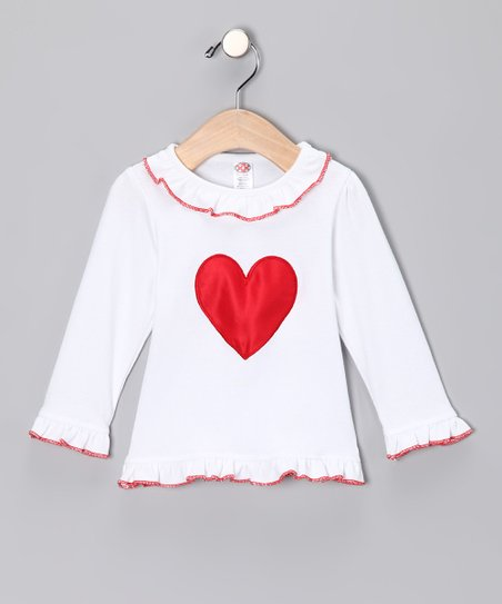White Lil' Love Tee - Infant & Toddler