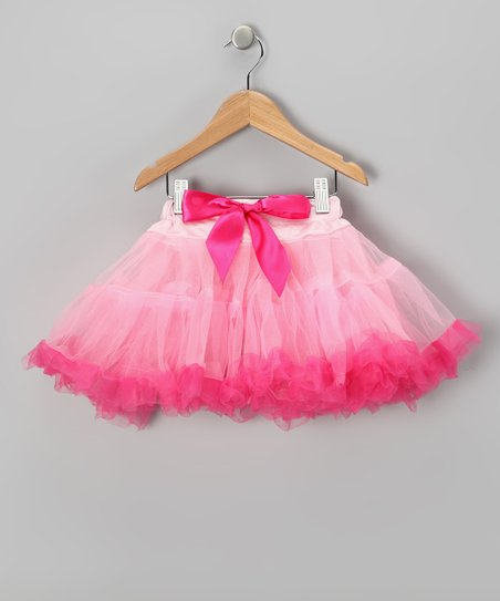 Pink & Hot Pink Pettiskirt - Infant, Toddler & Girls