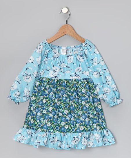 Baby Blue Mum Pattycake Dress - Toddler & Girls