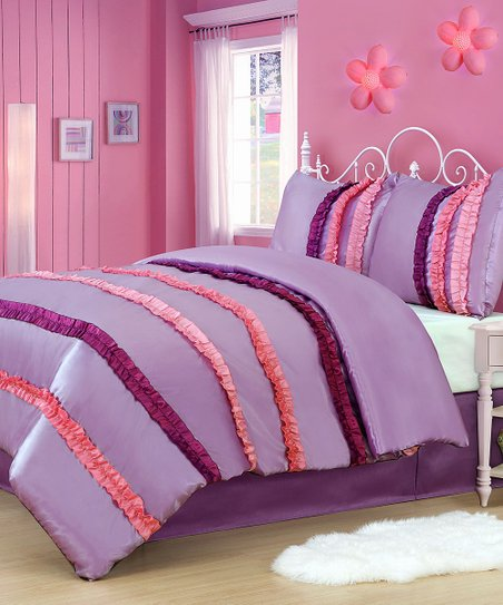 Ruffle Power Twin Comforter Set