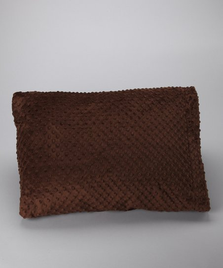 Brown Minky Pillowcase