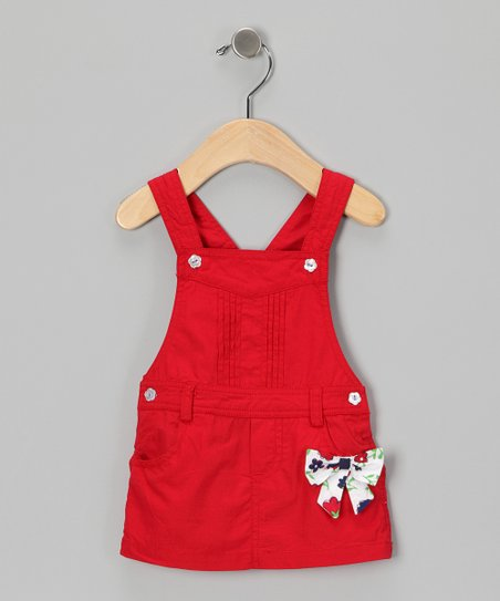 Red Bow Jumper - Infant & Toddler