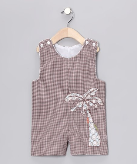 Brown Gingham John Johns - Infant & Toddler