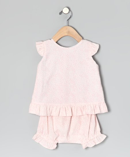 Pink Riley Top &amp; Bloomers - Infant