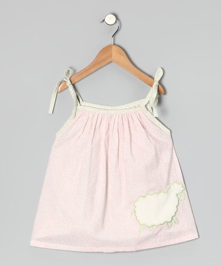 Pink Sheep Tie Tank - Infant, Toddler & Girls