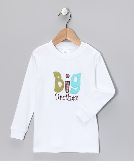 White 'Big Brother' Tee - Infant, Toddler & Boys