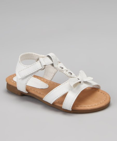 White Katy Bow Sandal