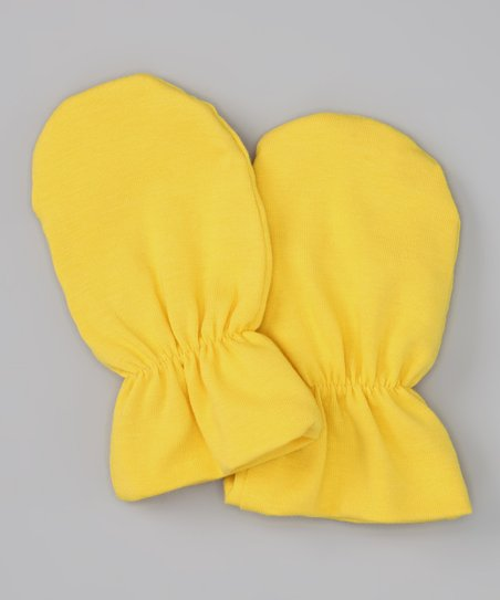 Yellow Mittens