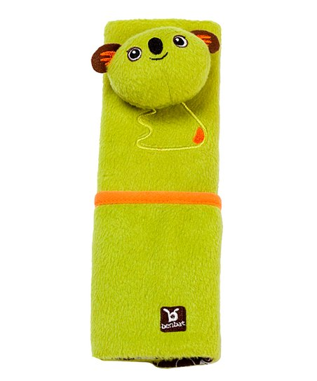 Green Koala Seat Belt Pad