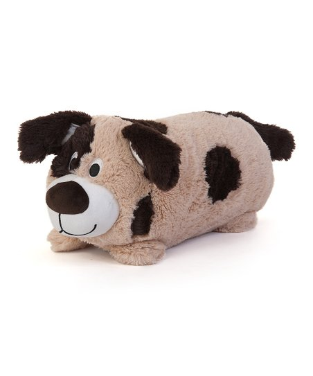 Parker Puppy Cuddly Buddies Pillow & Throw