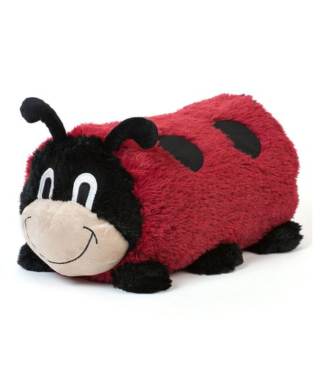 Lulu Ladybug Cuddly Buddies Pillow & Throw